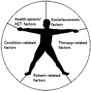 The five dimensions of adherence. Source: World Health Organization (WHO), 2003 (reproduced with permission from WHO, Geneva)
